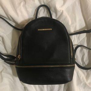 Aldo Faux leather mini backpack
